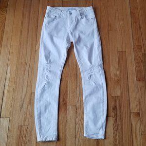 Zara White jeans Size 4